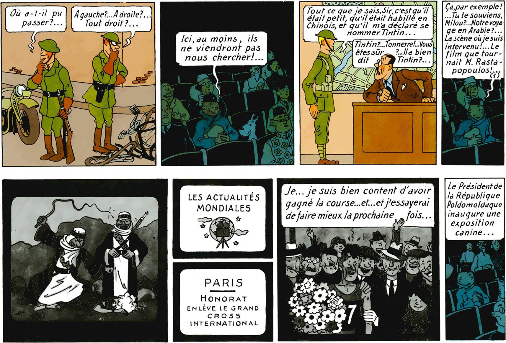 Le Lotus bleu Tintin au cinéma