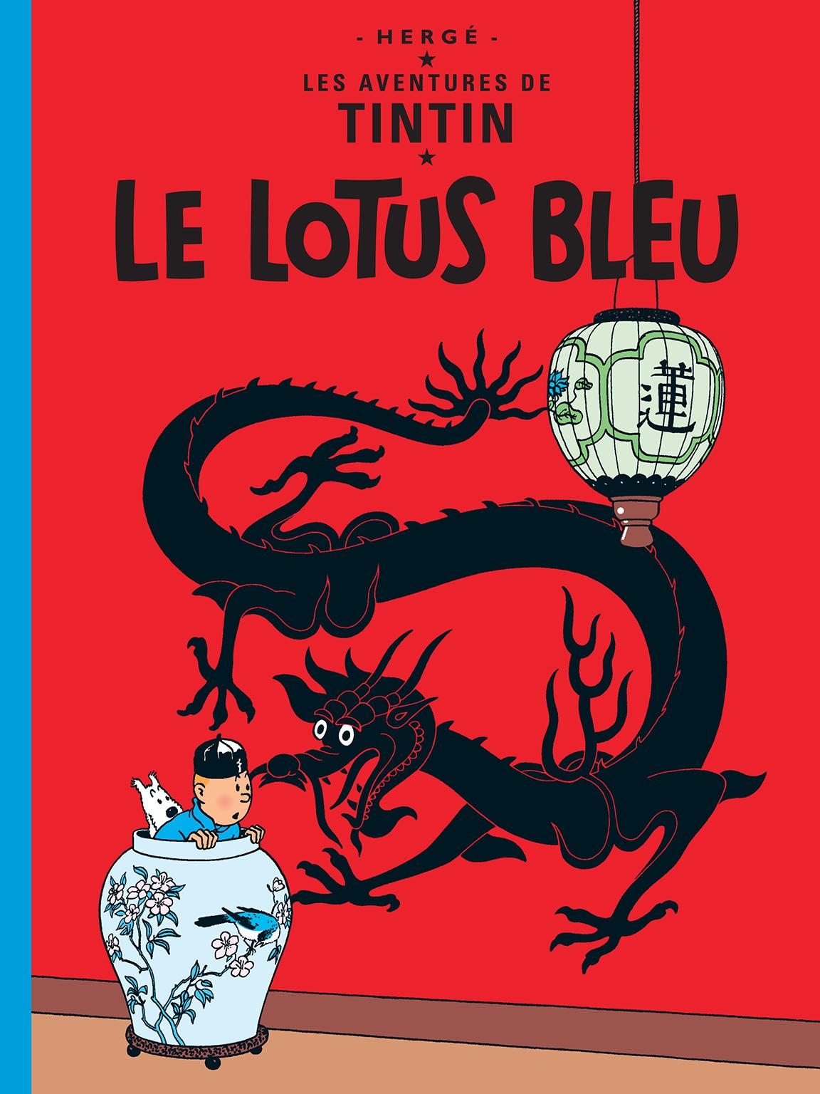 Couverture du Lotus Bleu