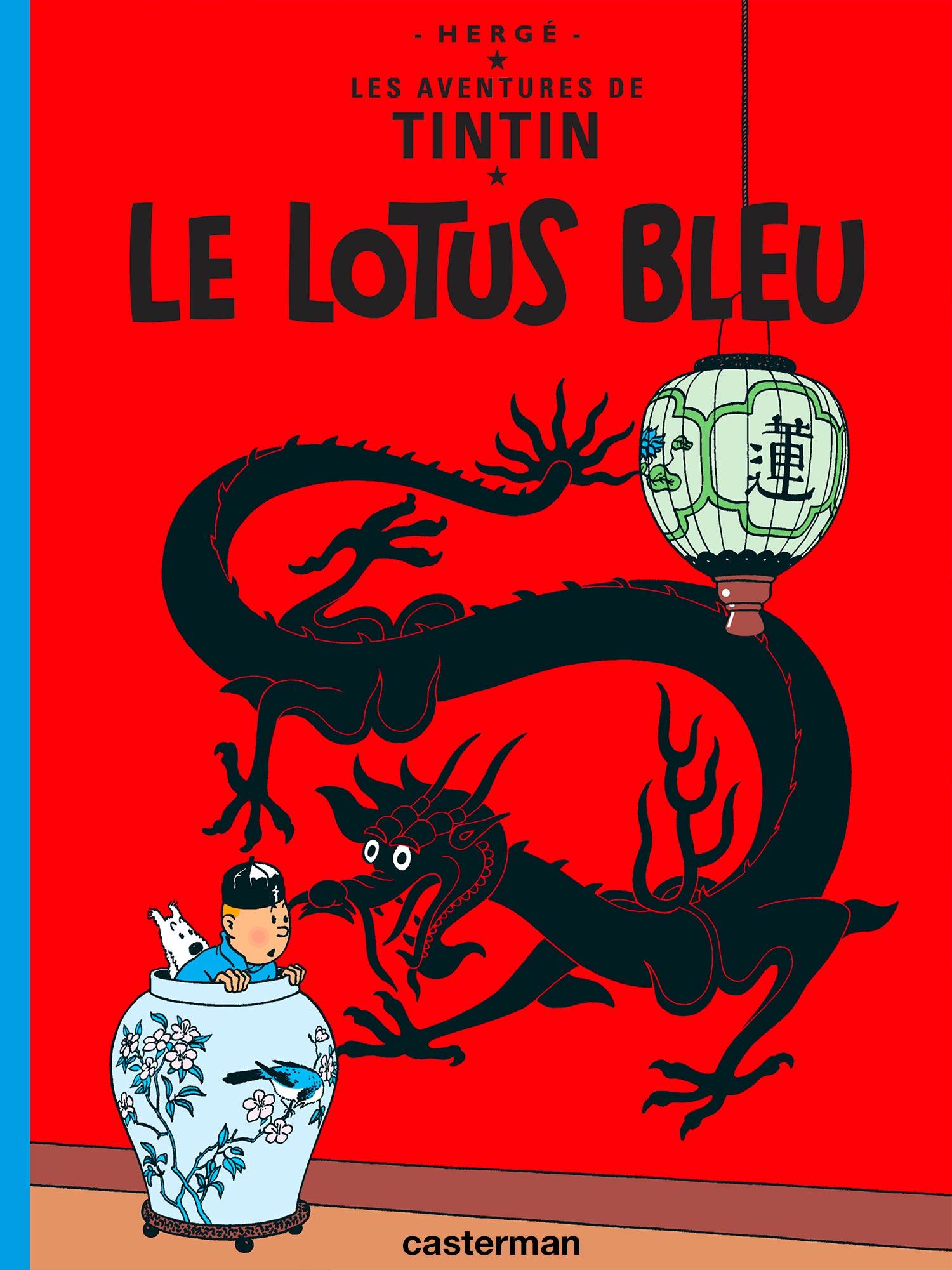 Le Lotus Bleu par Hergé