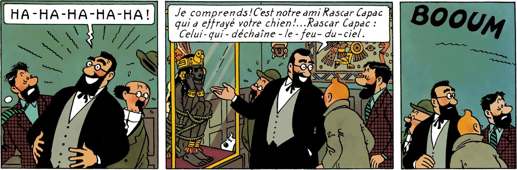 Bergamotte présente la momie Rascar Capac