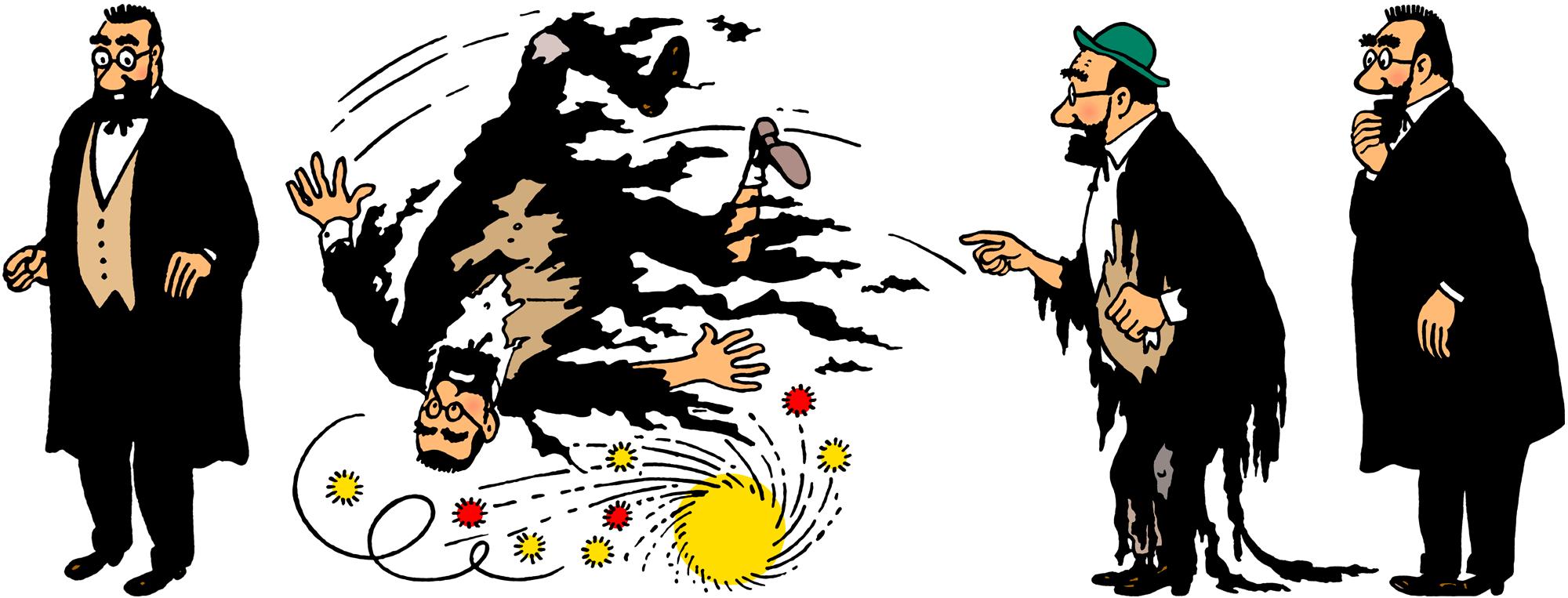 Tintin - Les Aventures de Tintin - Personnage Le professeur Bergamotte