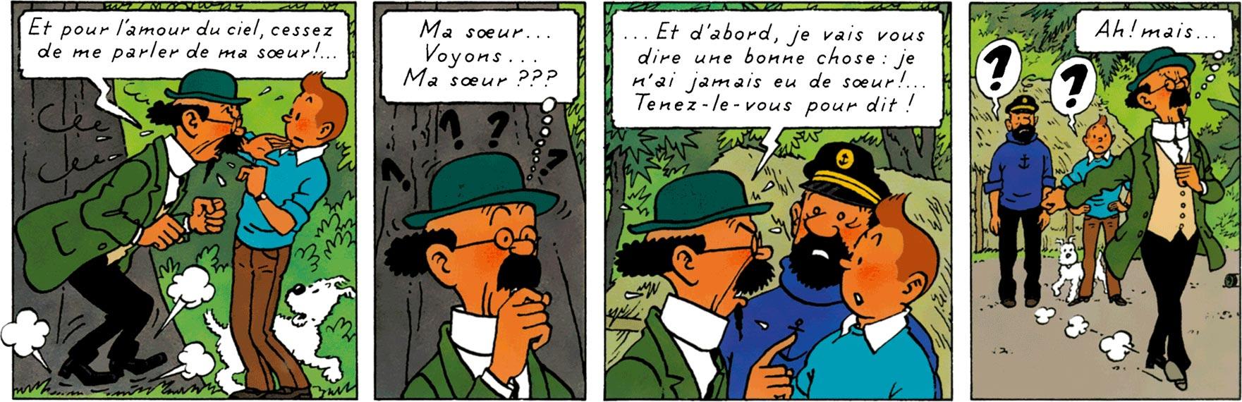 Tournesol n'a pas de soeur - Tintin et les Picaros