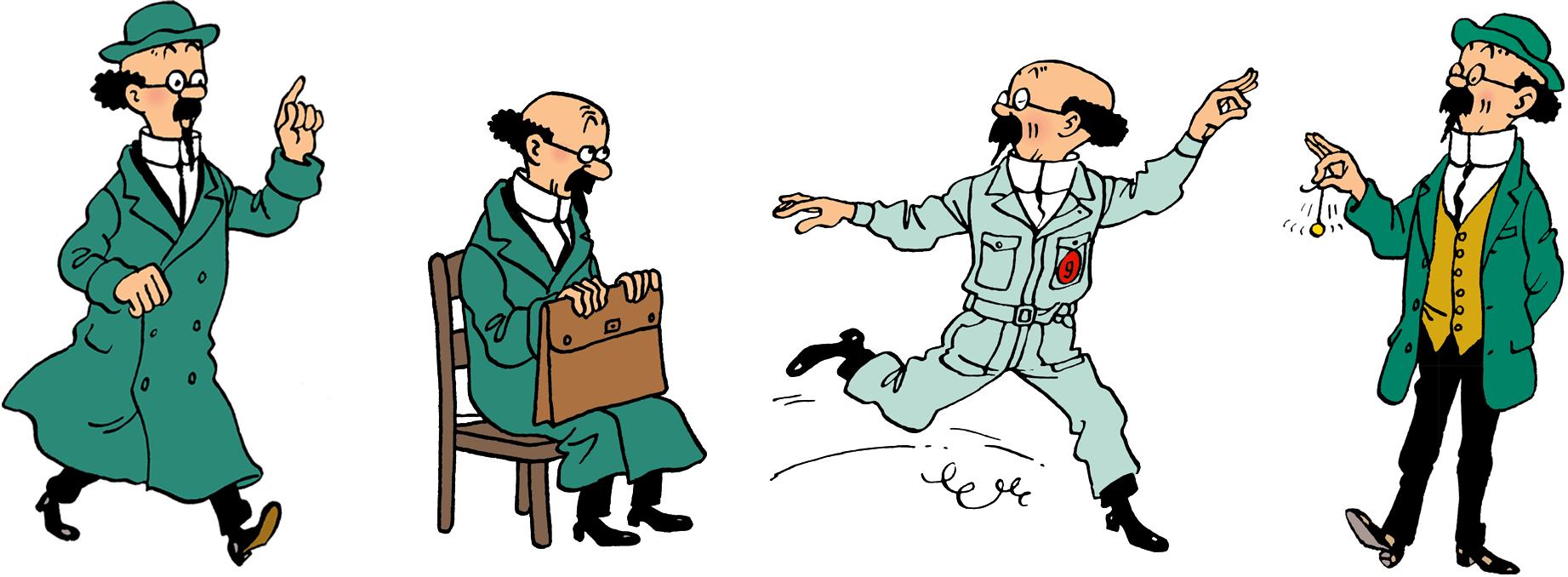 4 illustrations de Tournesol