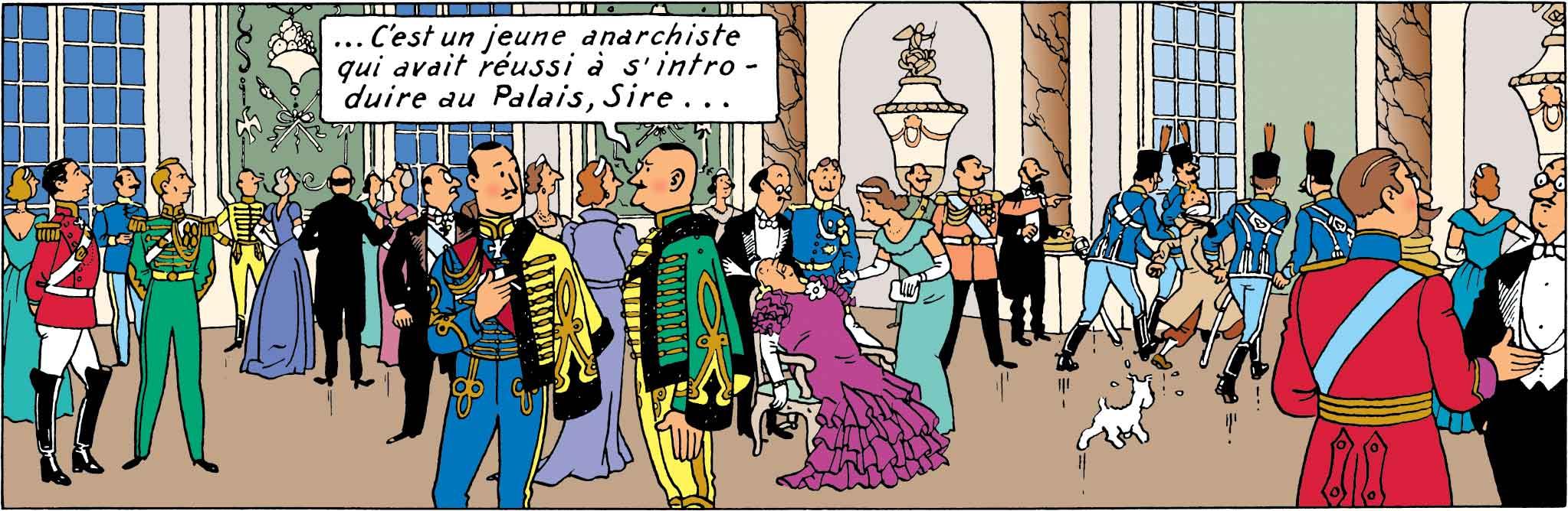 Tintin - Les Aventures de Tintin - Le Sceptre Ottokar - Arrestation de Tintin