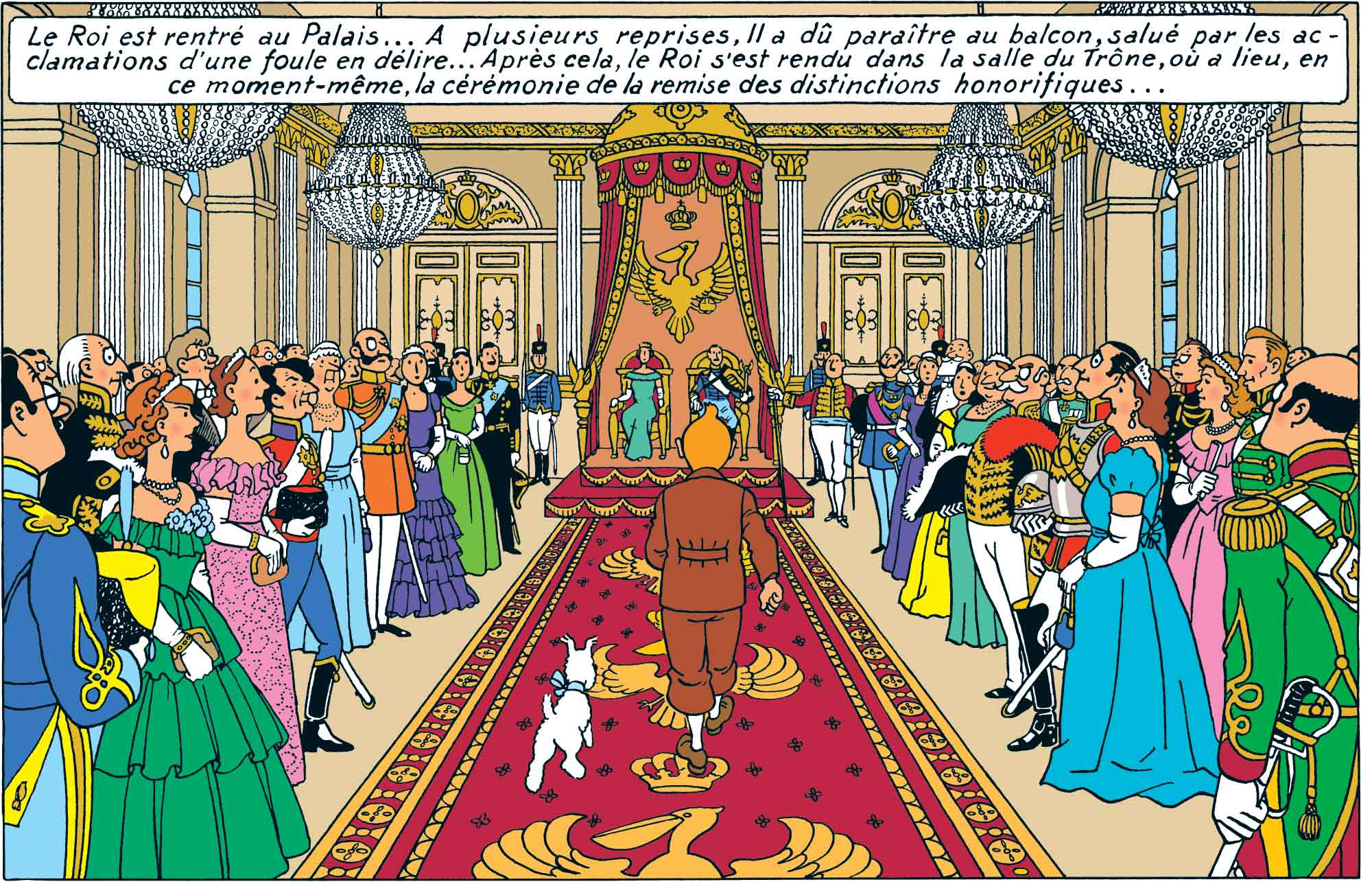 Tintin - Les Aventures de Tintin - Le Sceptre Ottokar