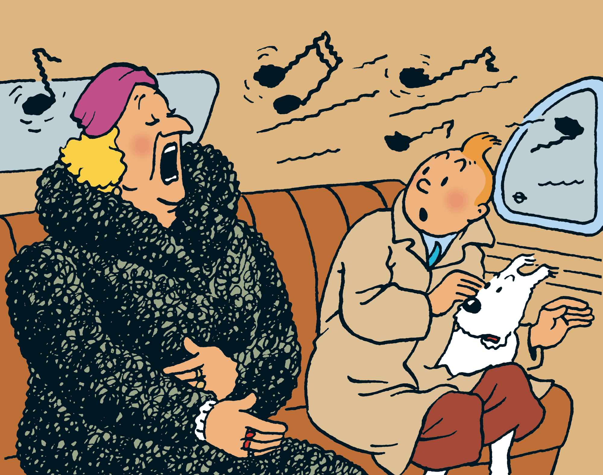 Tintin - Les Aventures de Tintin - Bianca Castafiore de la Scala de Milan