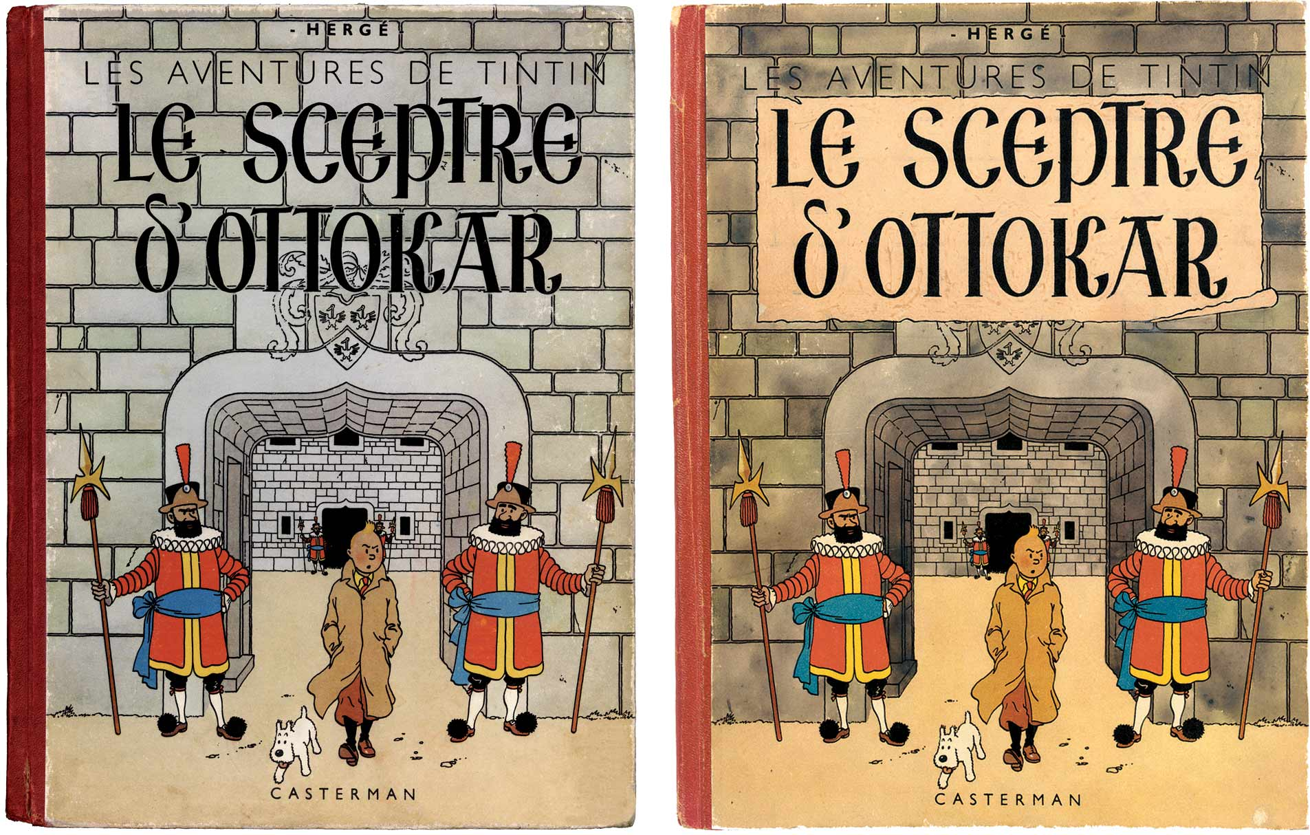 Tintin - Les Aventures de Tintin - Le Sceptre d'Ottokar - Album