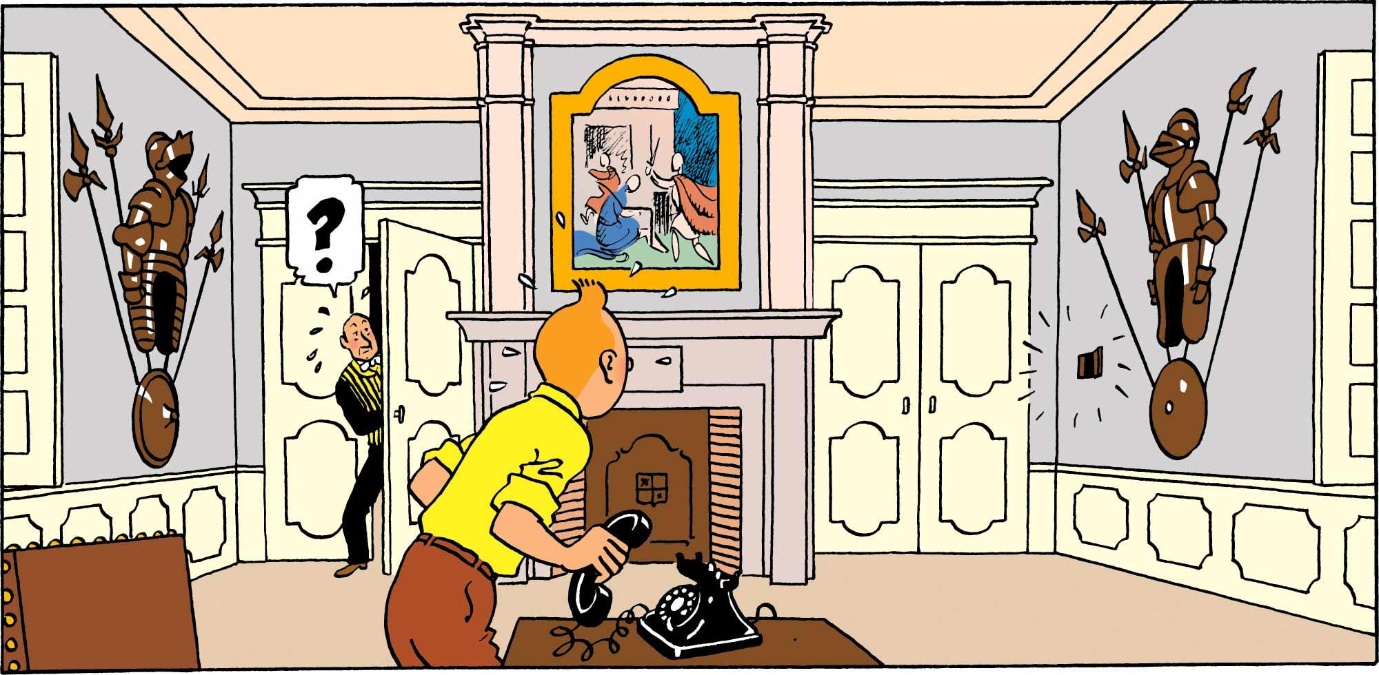 Tintin - Les Aventures de Tintin - La Chambre de Tintin