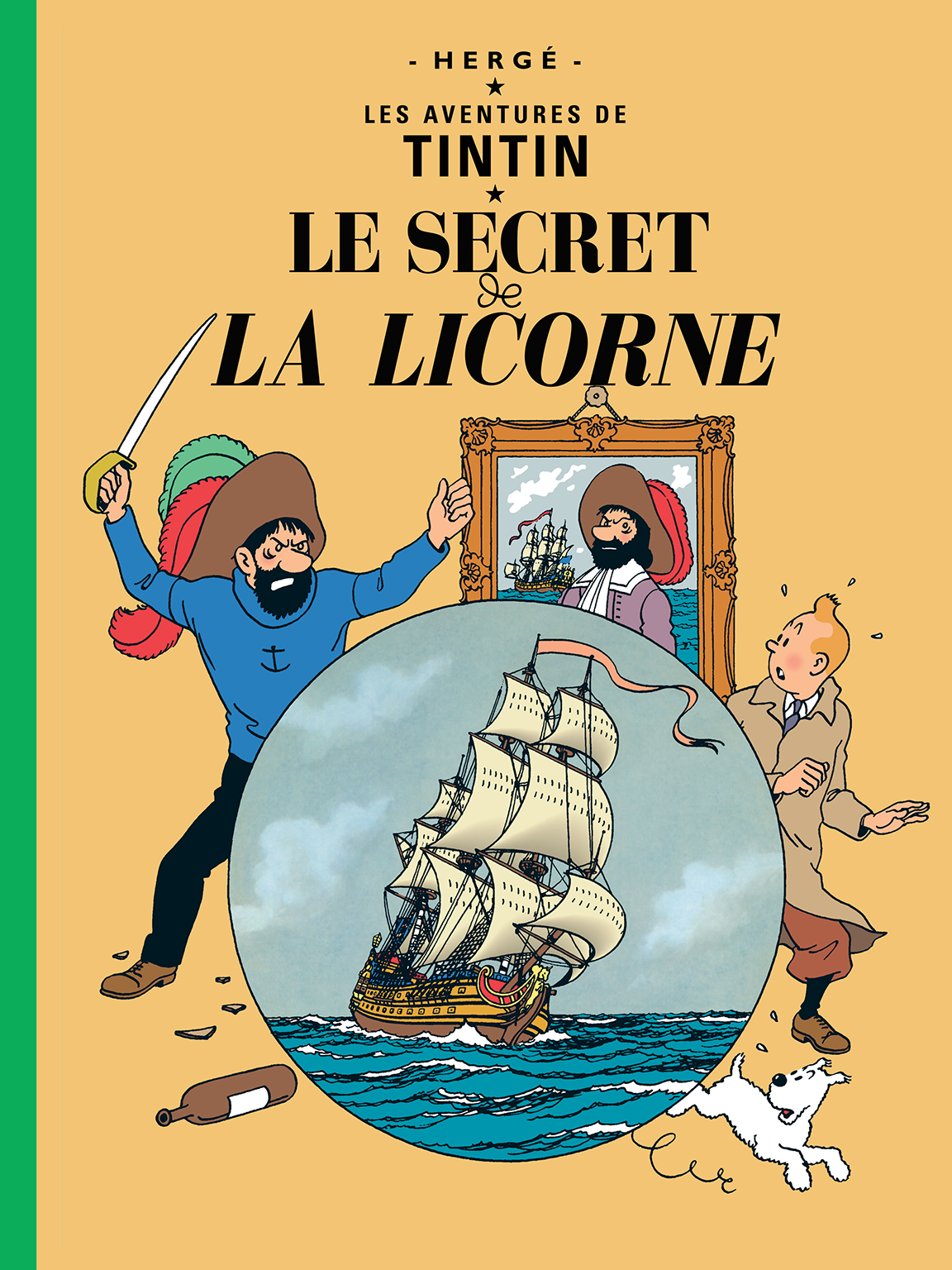 TINTIN The Secret of the Unicorn Hergé RG tintin.com