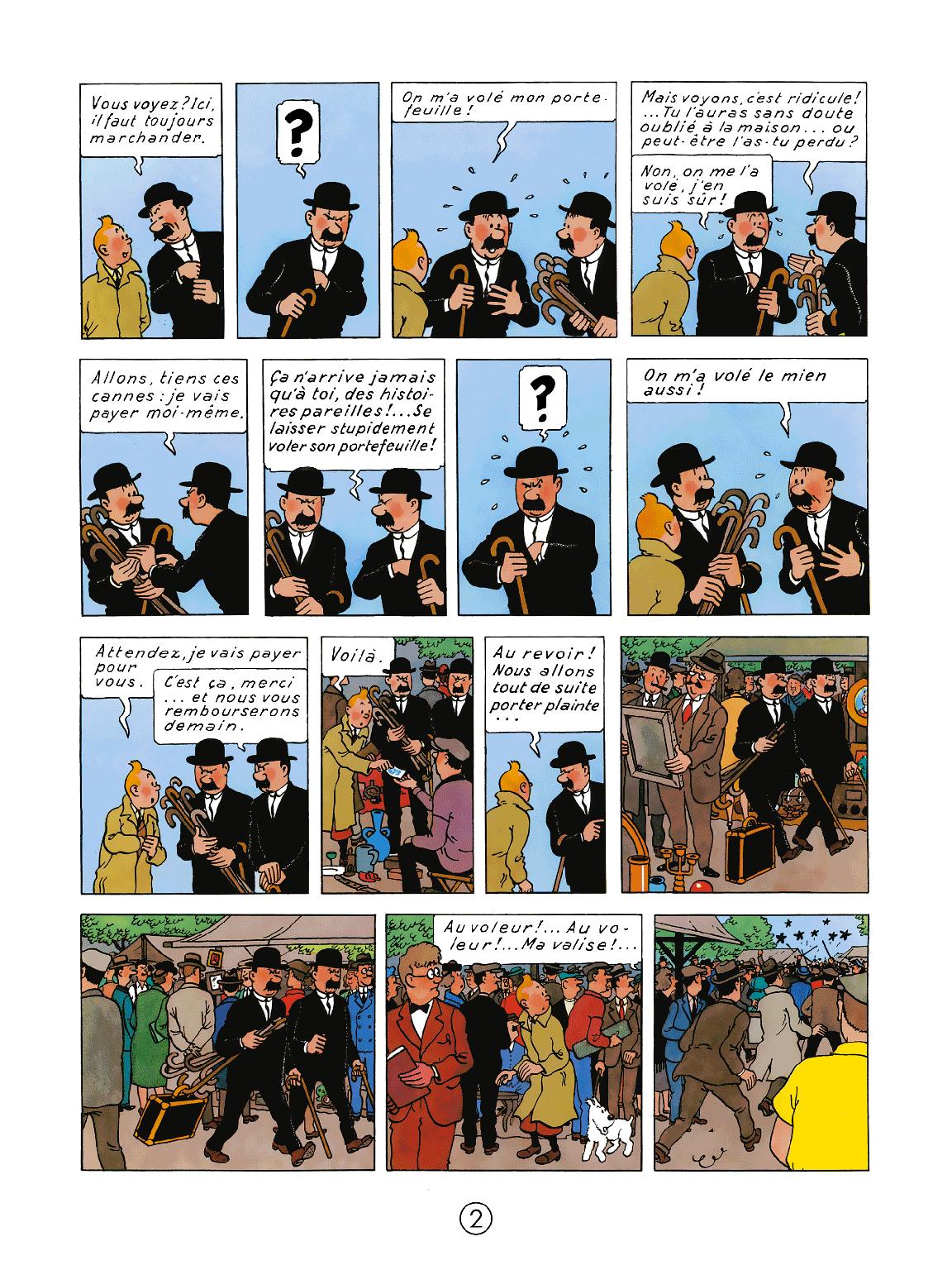 Le Secret de La Licorne - page 2