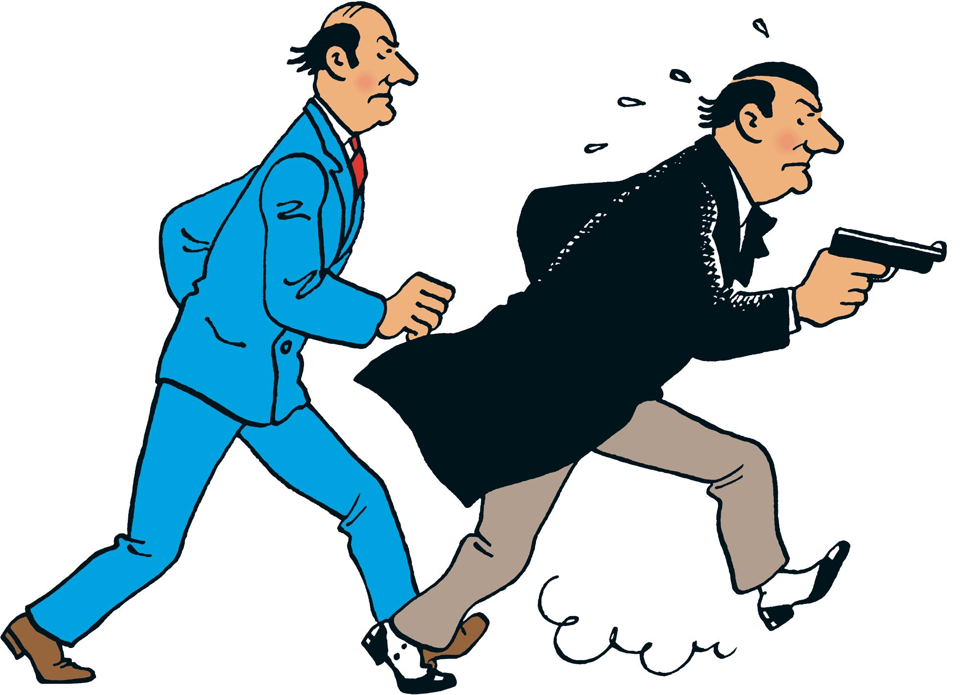 Tintin - Les Aventures de Tintin - Les Frères Loiseau