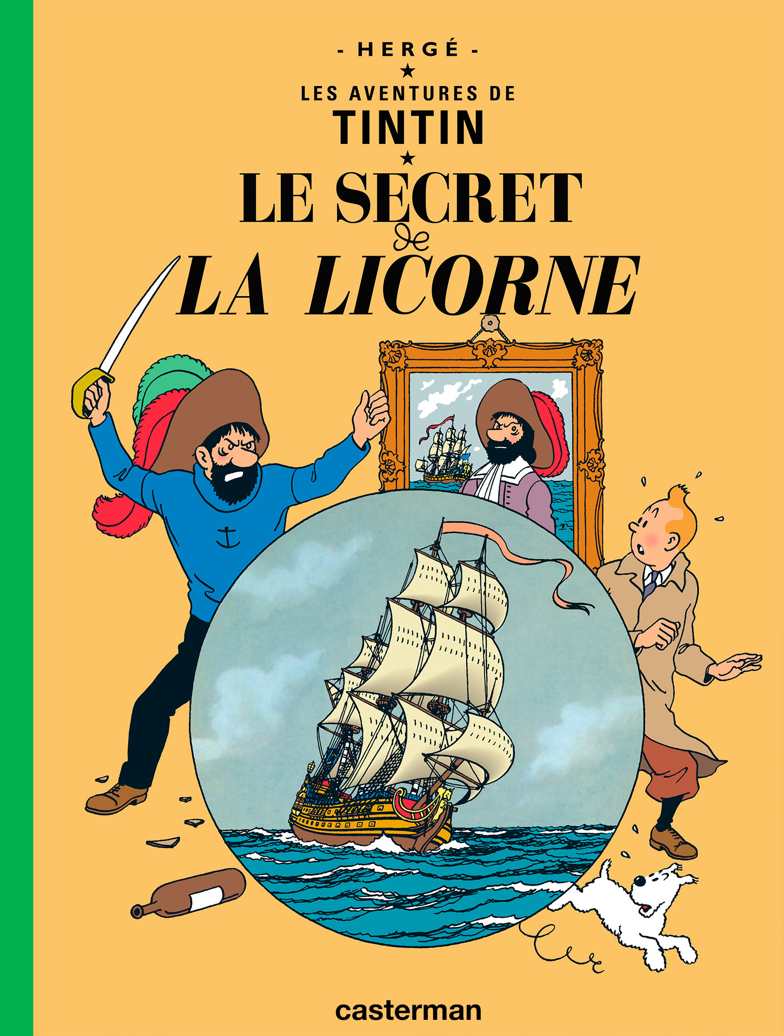 Le Secret de La Licorne par Hergé