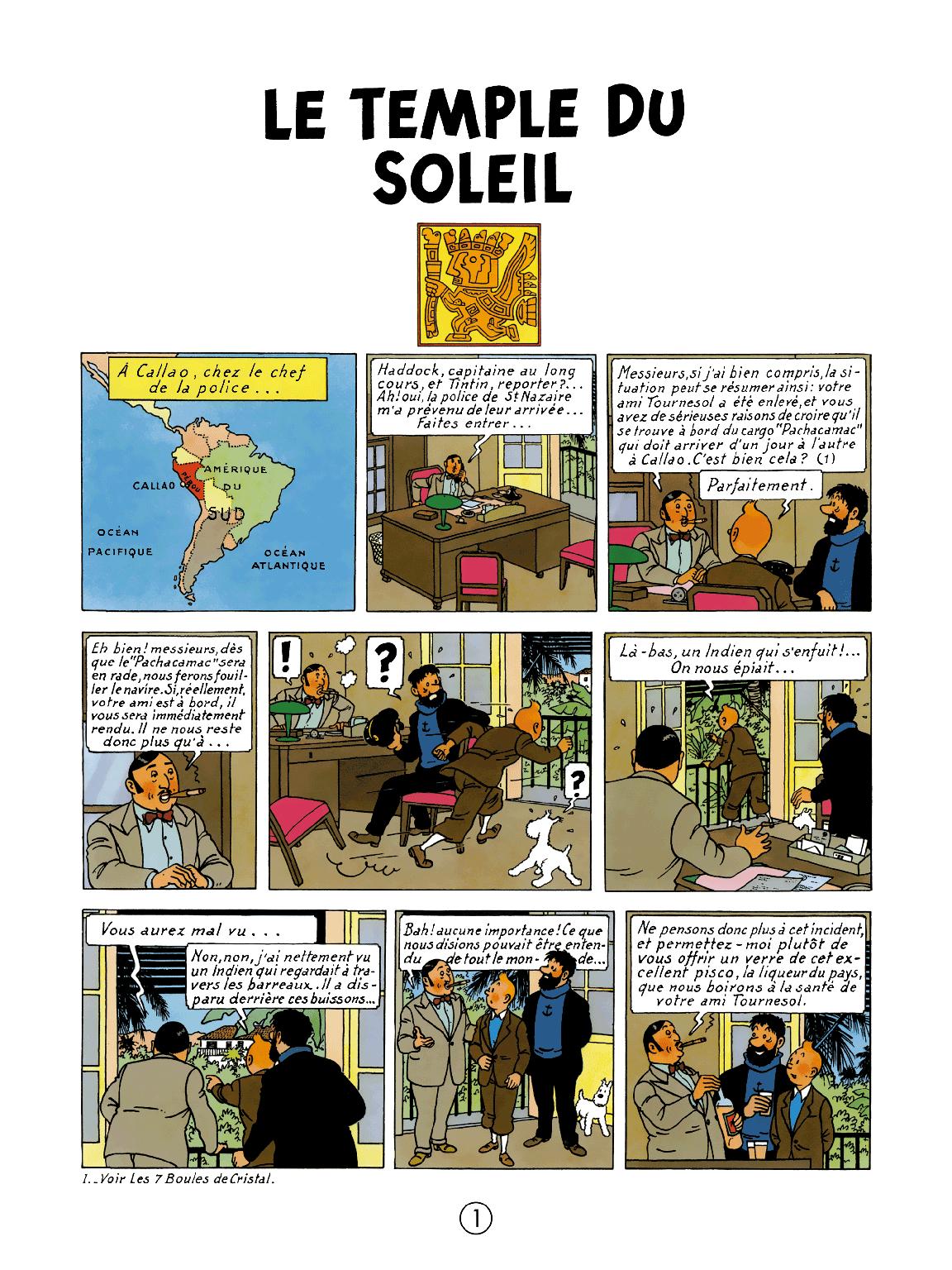 Le Temple du Soleil - page 1