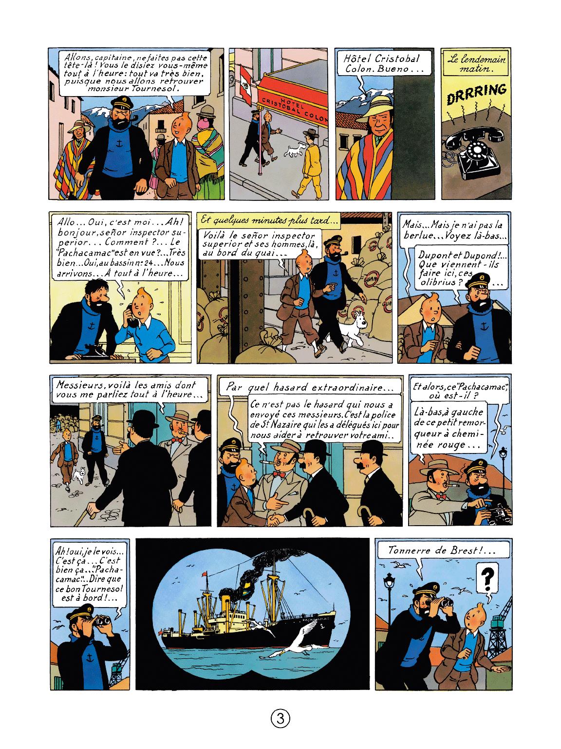 Le Temple du Soleil - page 3