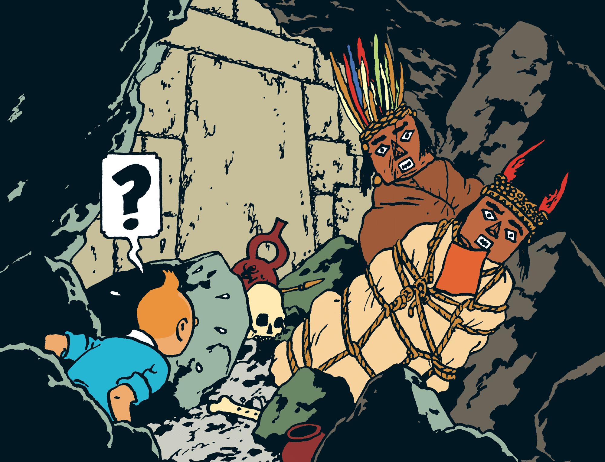 Tintin - Les Aventures de Tintin - Le Temple du Soleil