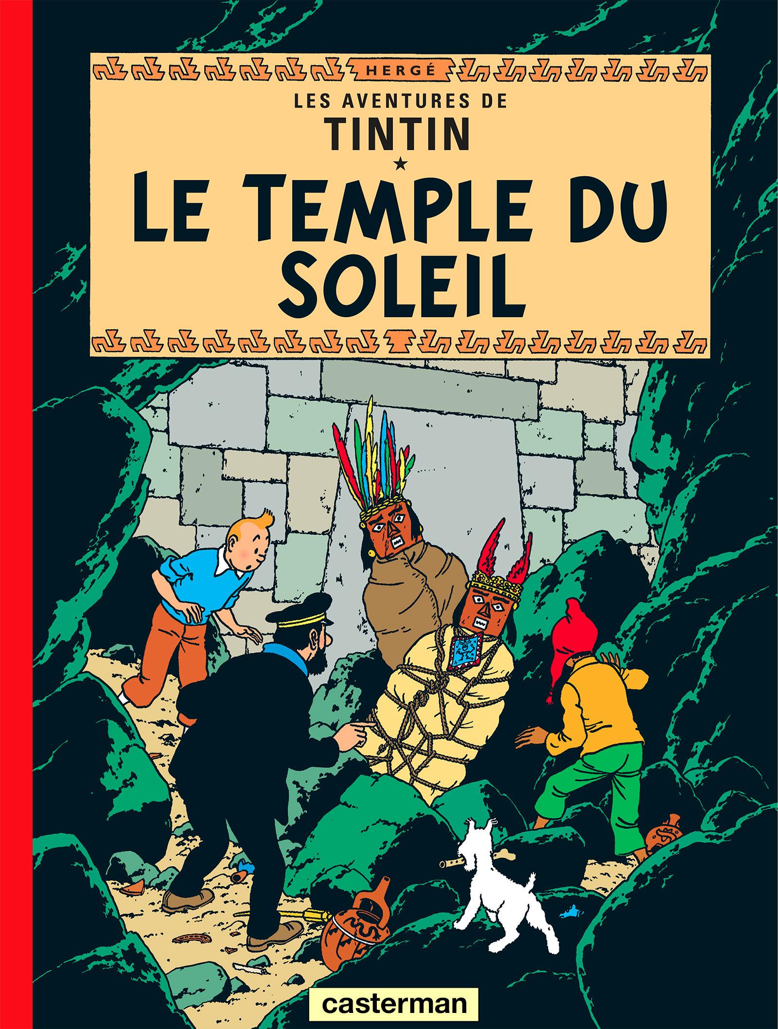 Le Temple du Soleil de Hergé