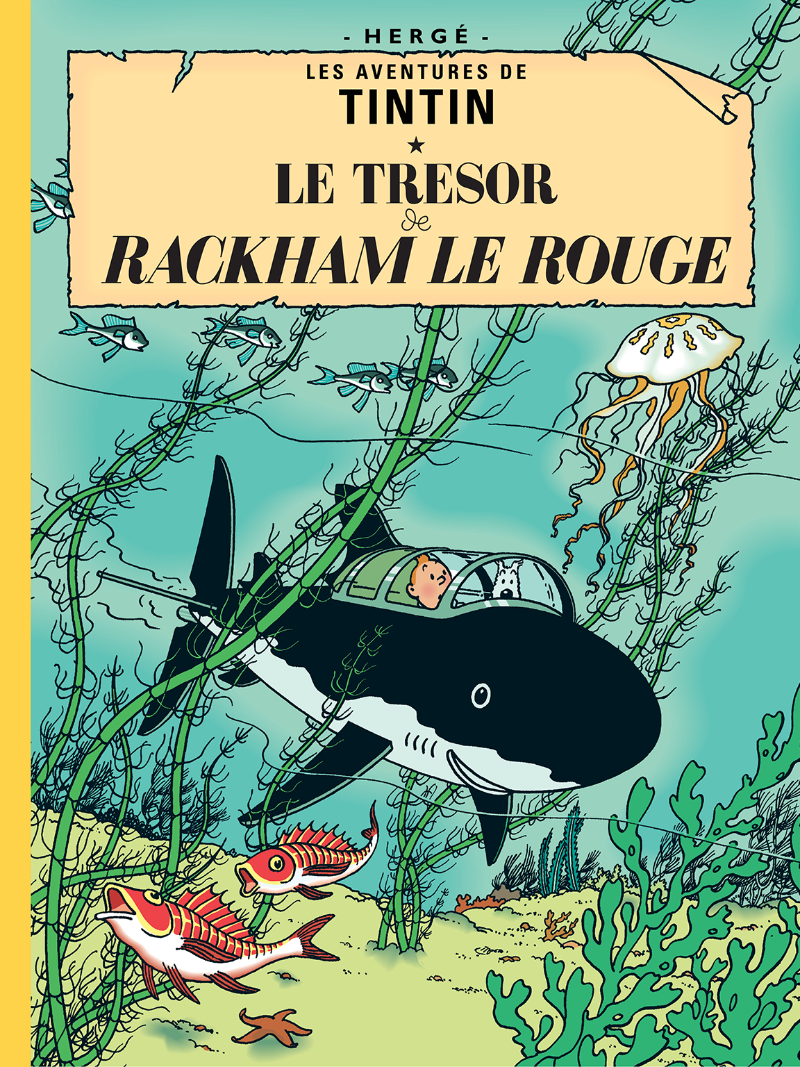 TINTIN Red Rackham's Treasure Hergé RG tintin.com