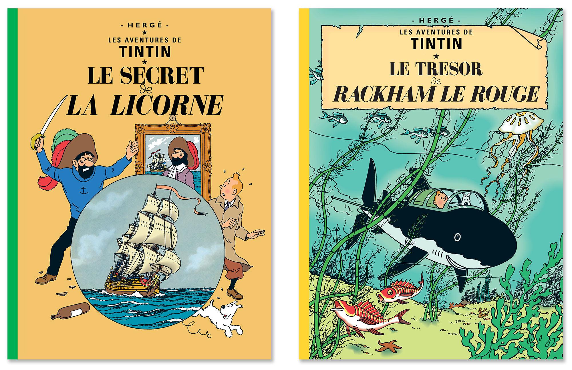Tintin - Les Aventures de Tintin - Le Secret de La Licorne - Le Trésor de Rackham Le Rouge
