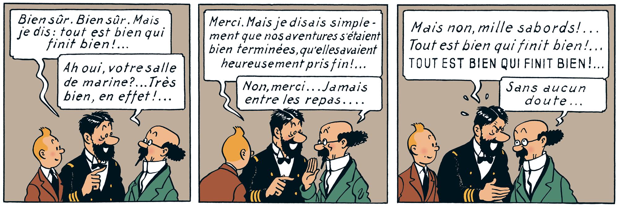Tintin - Les Aventures de Tintin - Le Trésor de Rackham le Rouge - Professeur Tournesol