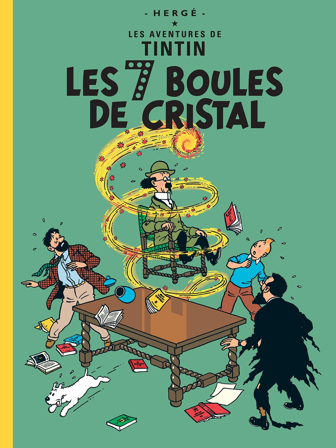 TINTIN The Seven Crystal Balls Hergé RG tintin.com