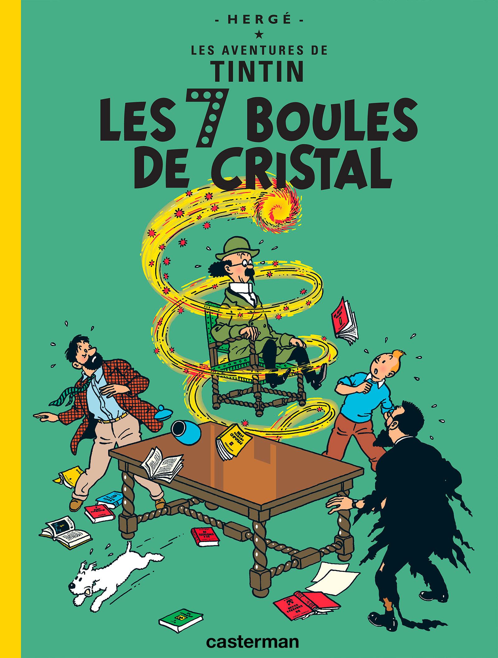 Les 7 boules de cristal. Edition en arménien - Hergé