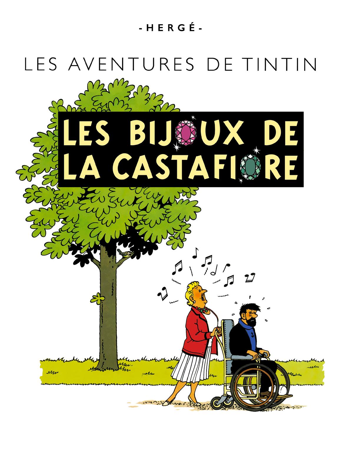 Les Bijoux de la Castafiore - page titre