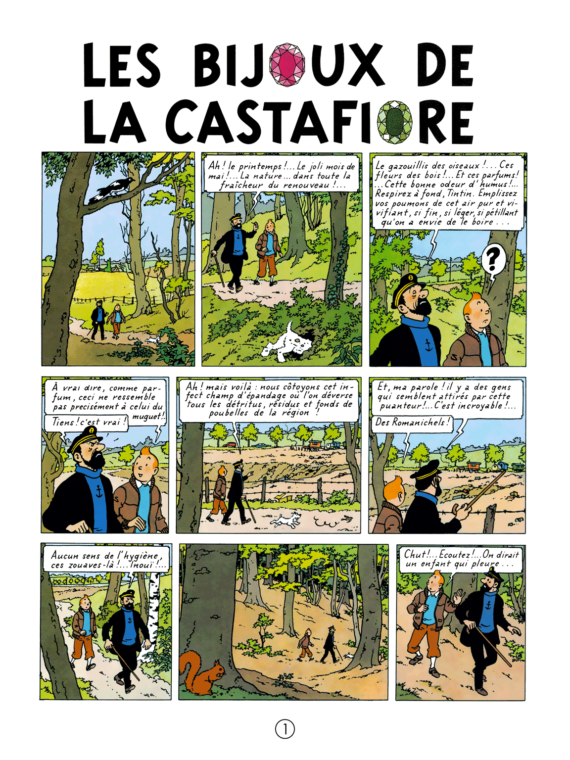 Les Bijoux de la Castafiore - page 1