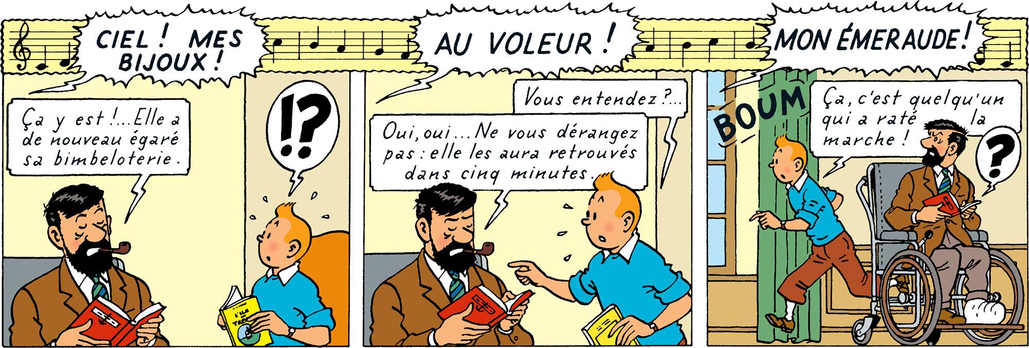 Les Bijoux de la Castafiore — Tintin.com