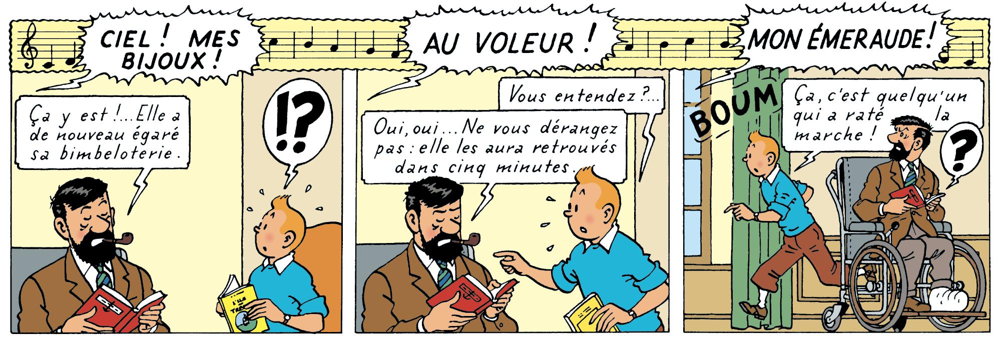 Tintin - Les Aventures de Tintin - Les Bijoux de la Castafiore