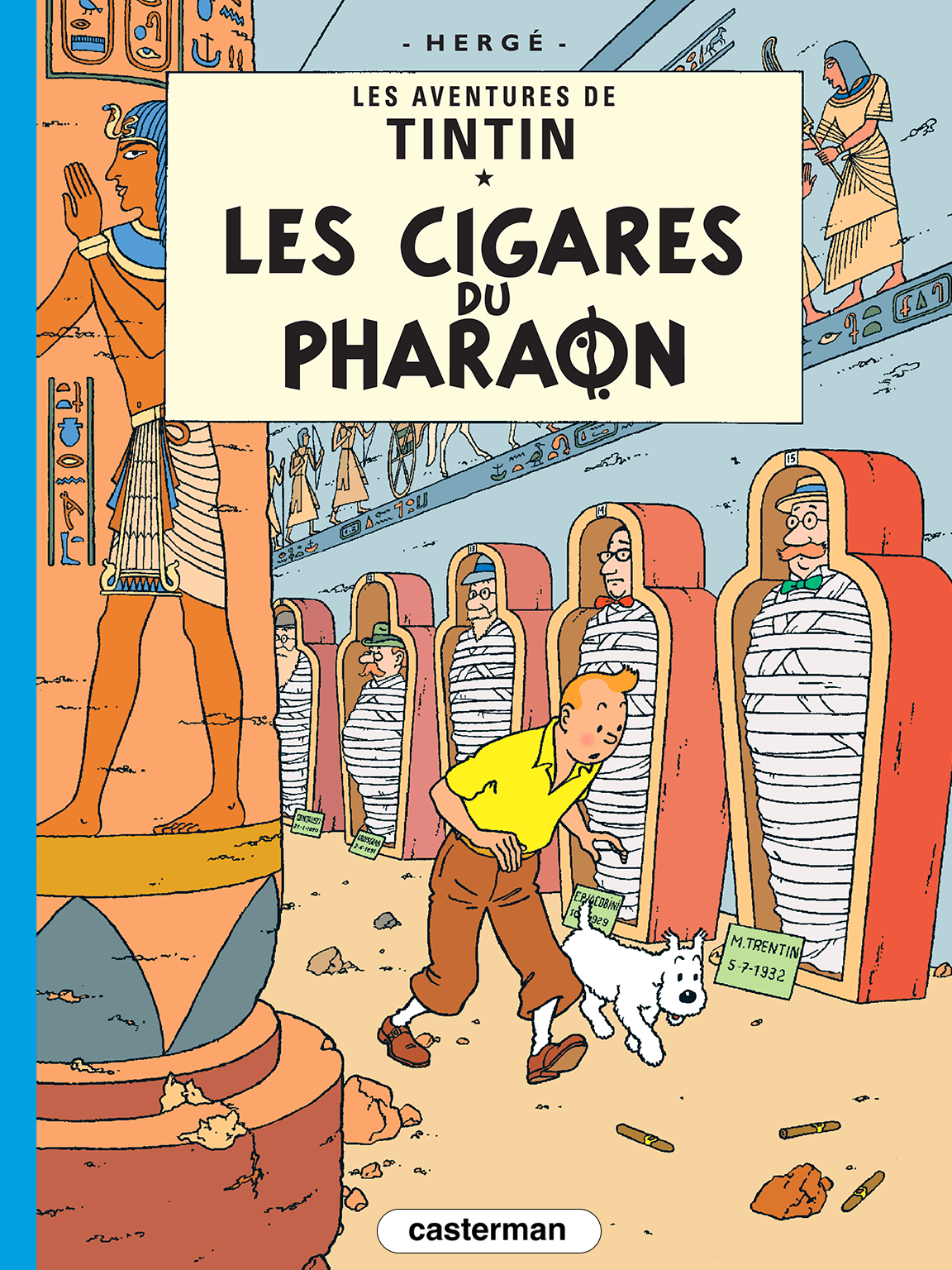 Les Cigares du Pharaon couverture