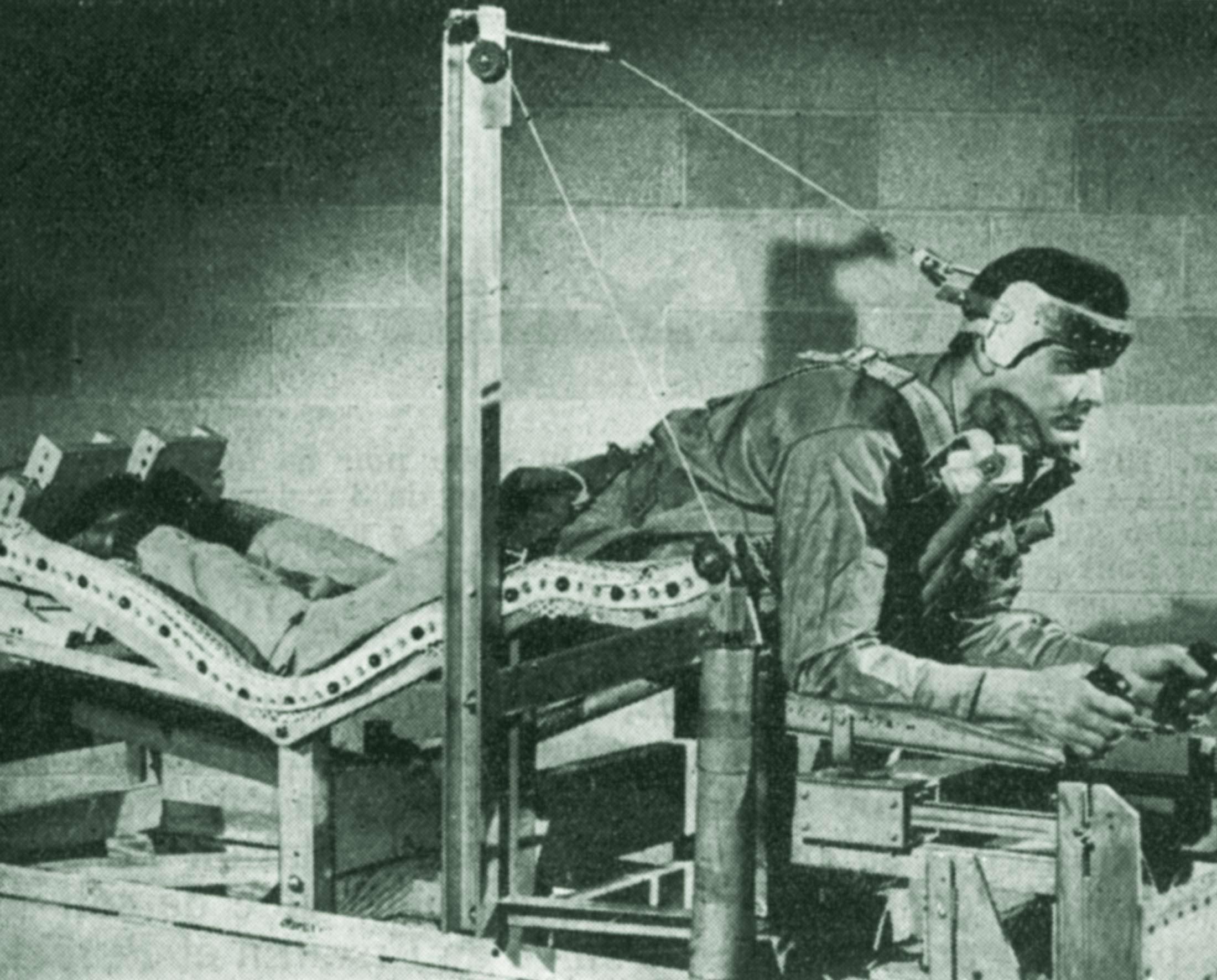 Photo prototype de couchette ergonomique pour Objectif Lune