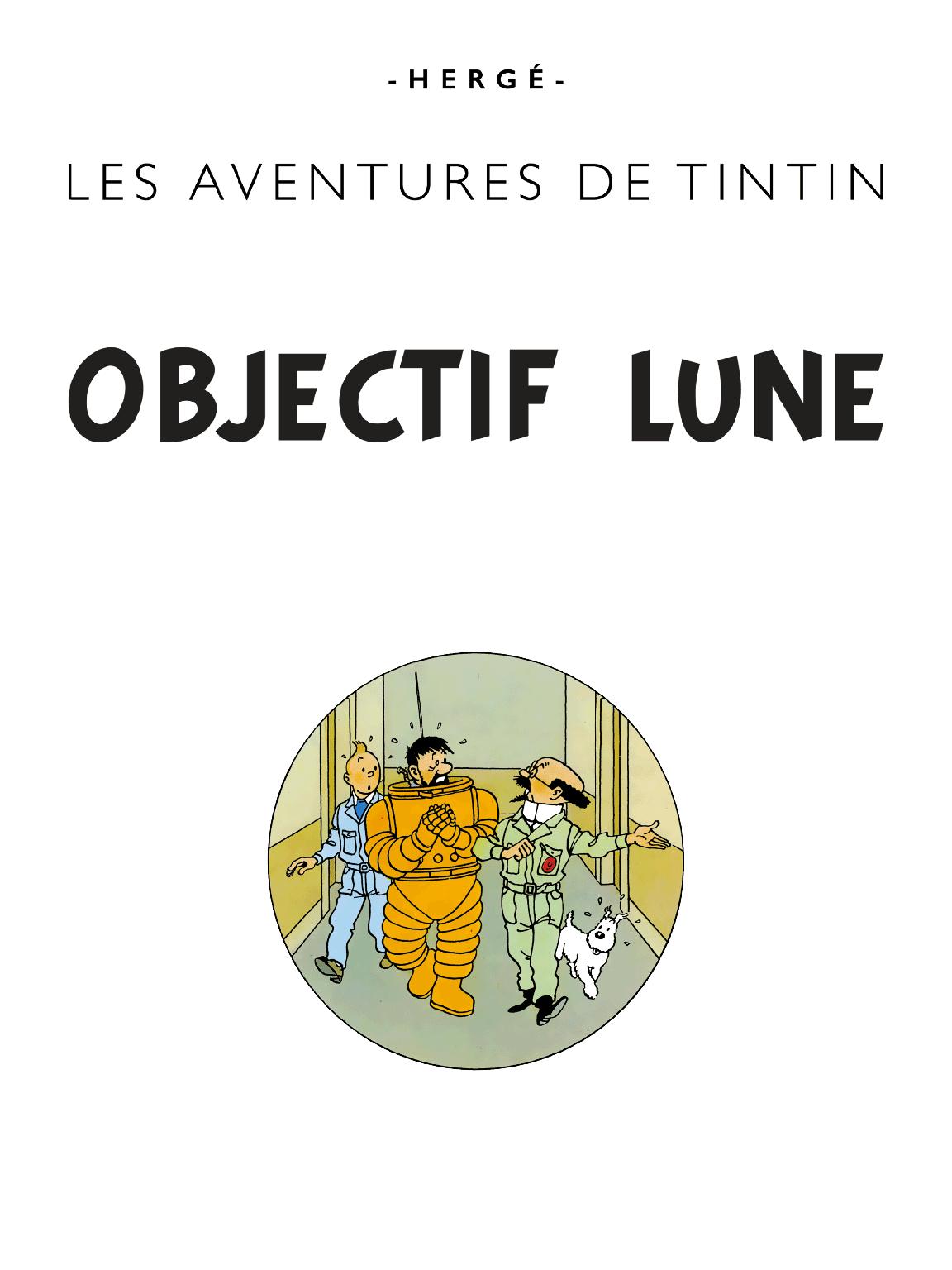 Objectif Lune - page titre