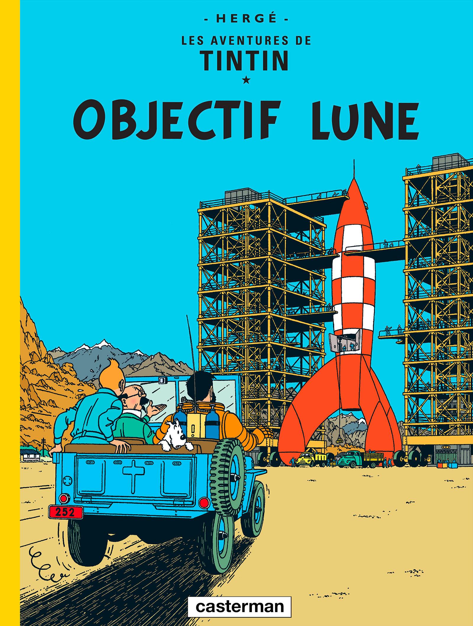 Objectif Lune de Hergé