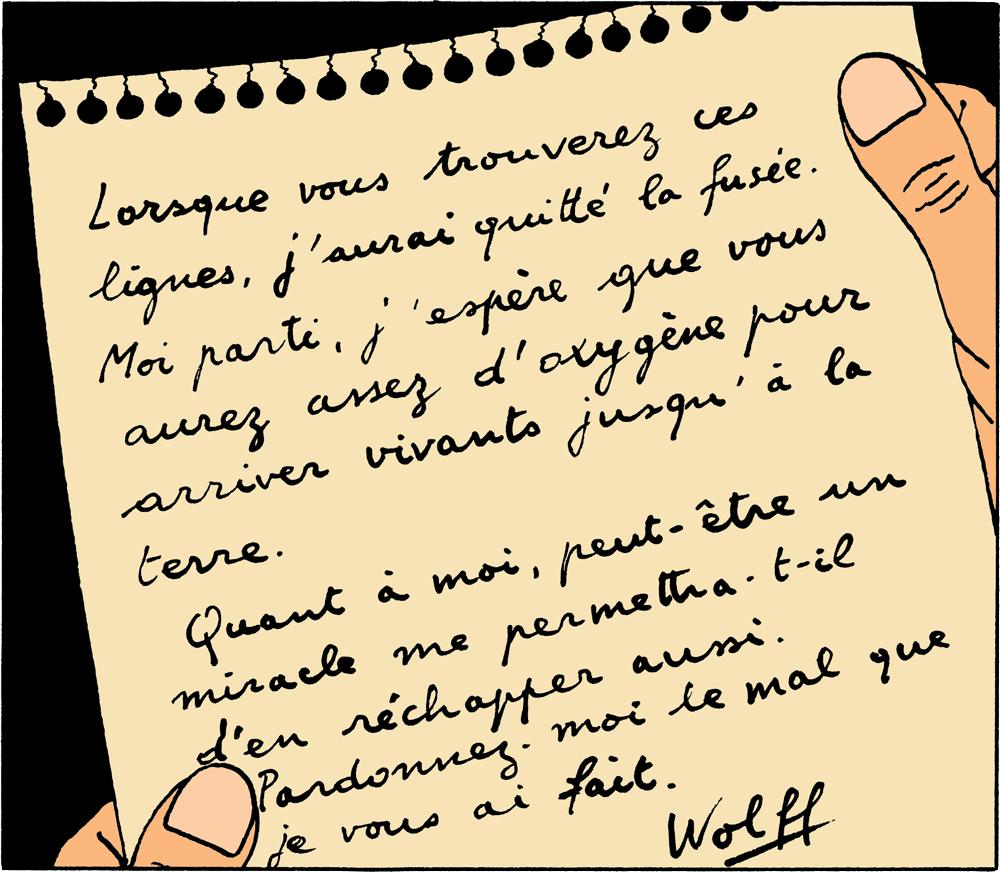 Tintin - Les Aventures de Tintin - On a marché sur la Lune - Woff