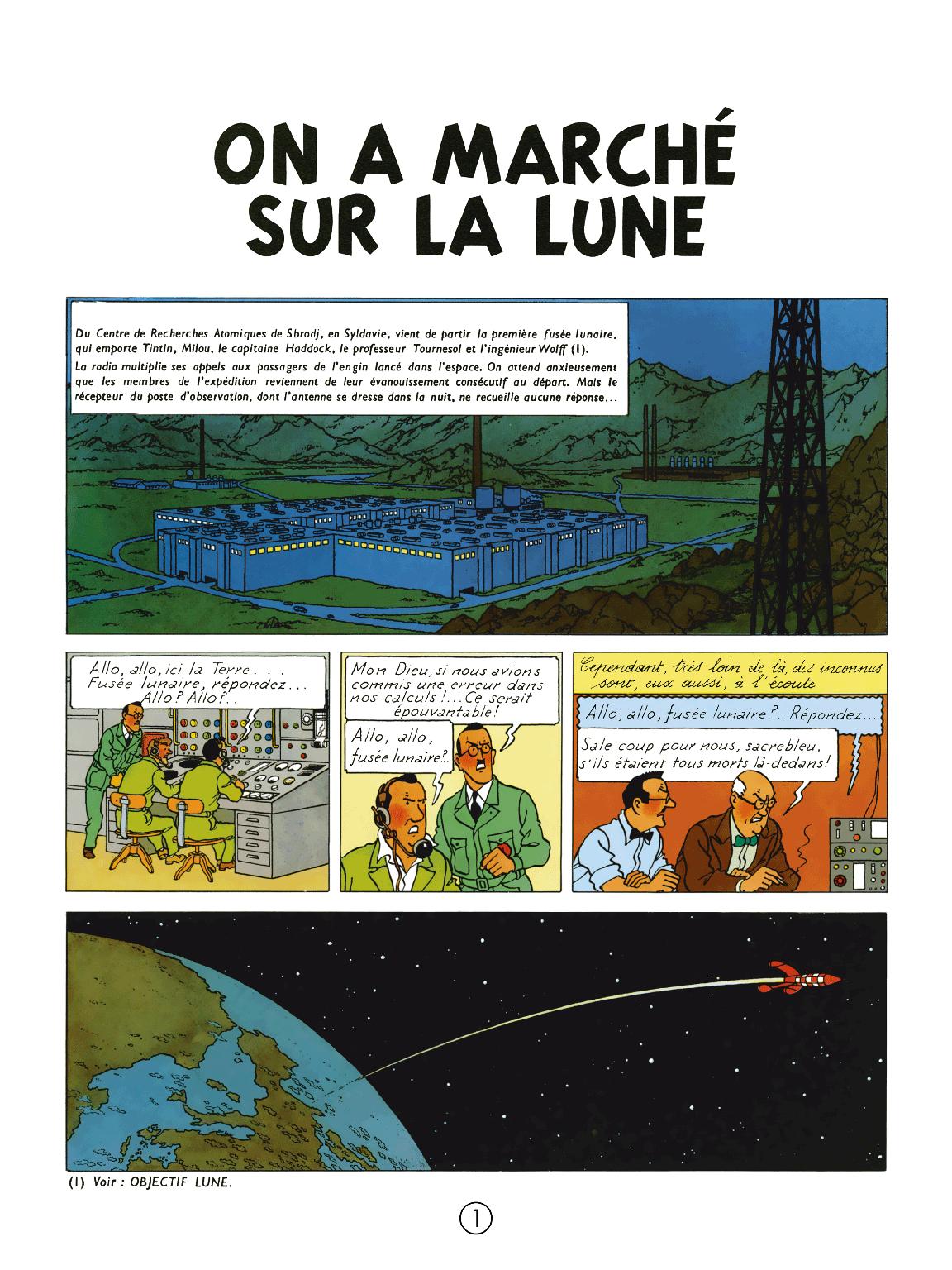 On a marché sur la Lune - page 1