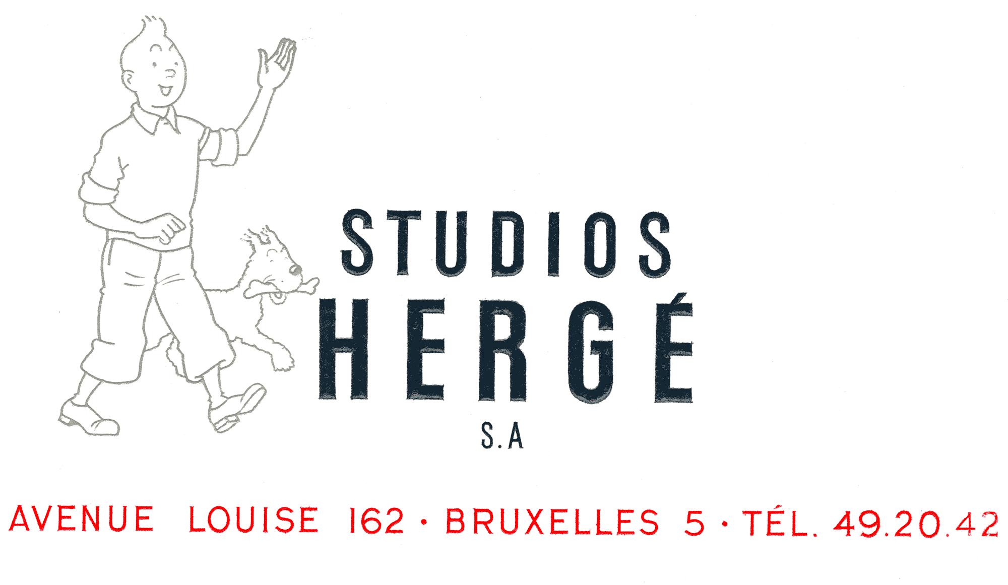 Tintin - Les Aventures de Tintin - On a marché sur la Lune - Studio Hergé Bruxelles