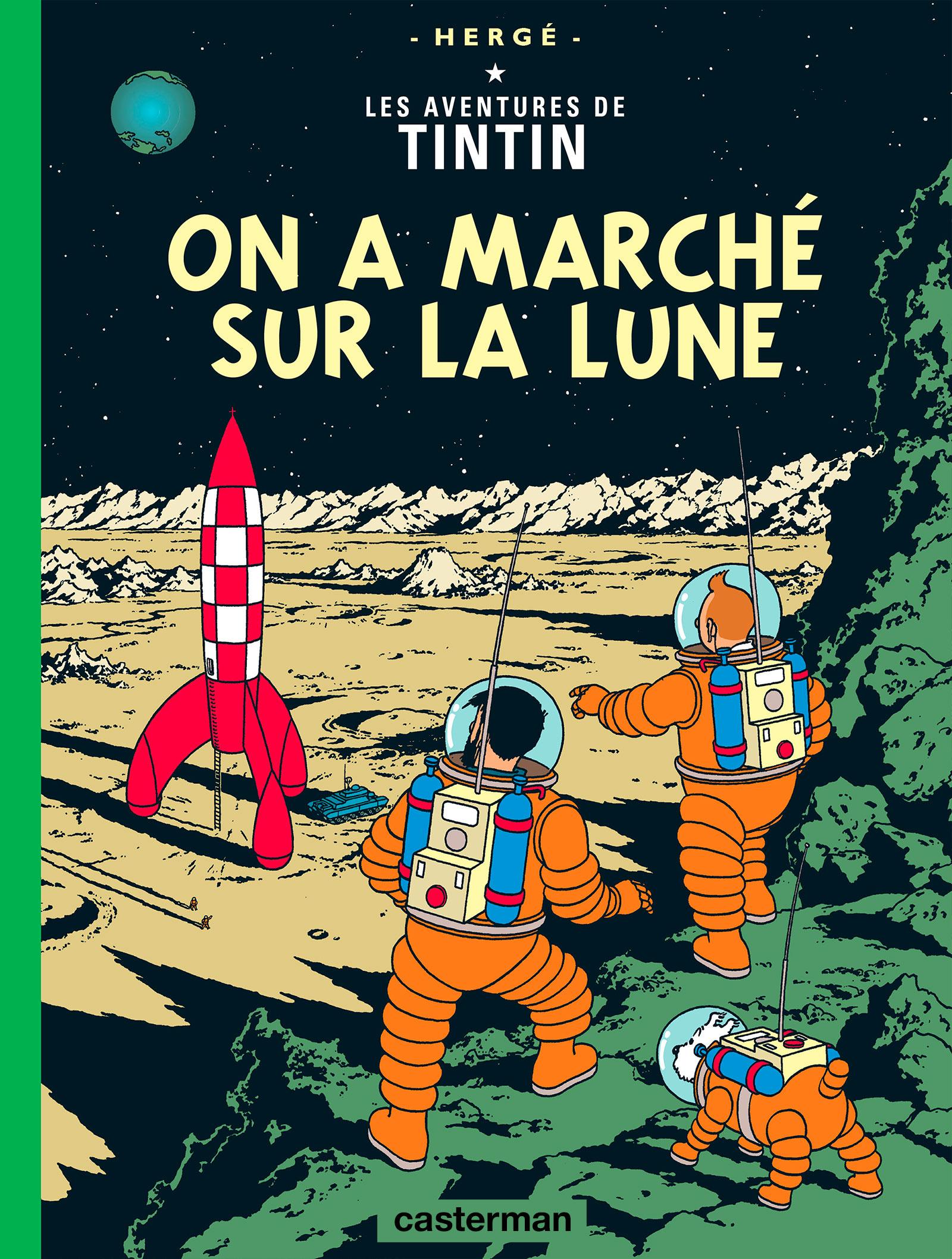On a marché sur la Lune par Hérgé