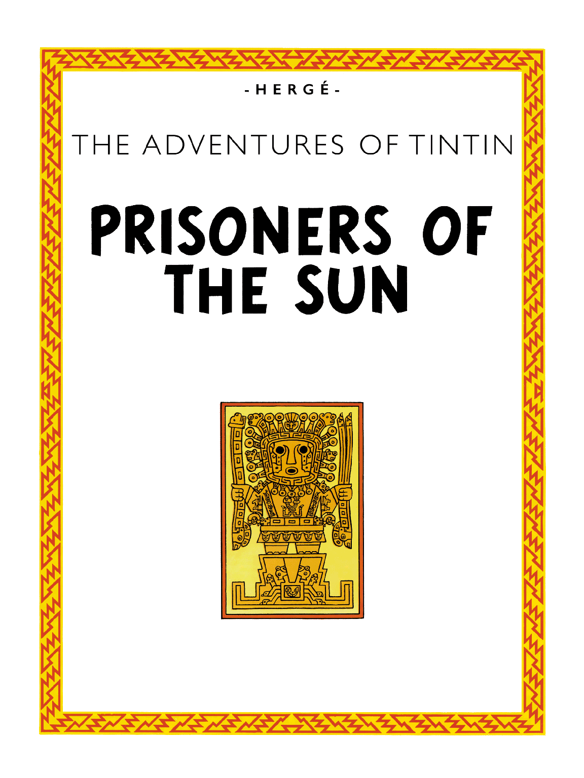Prisoners of the Sun - Title page