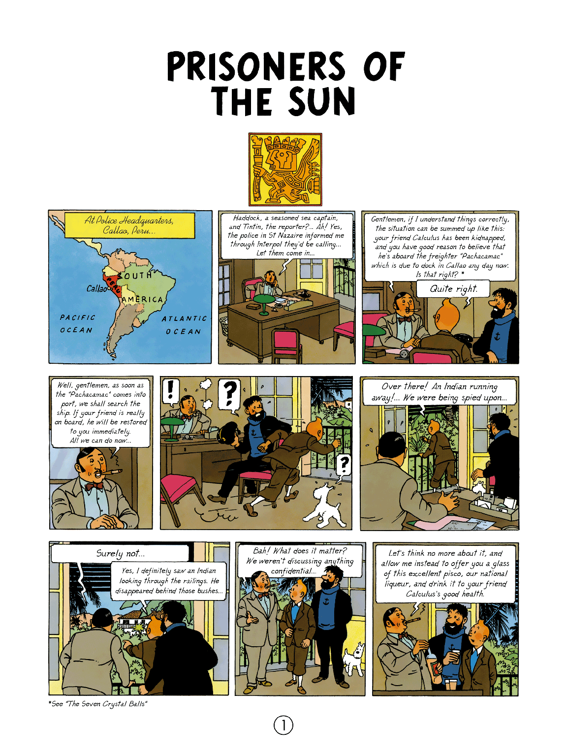 Prisoners of the Sun - Page 1