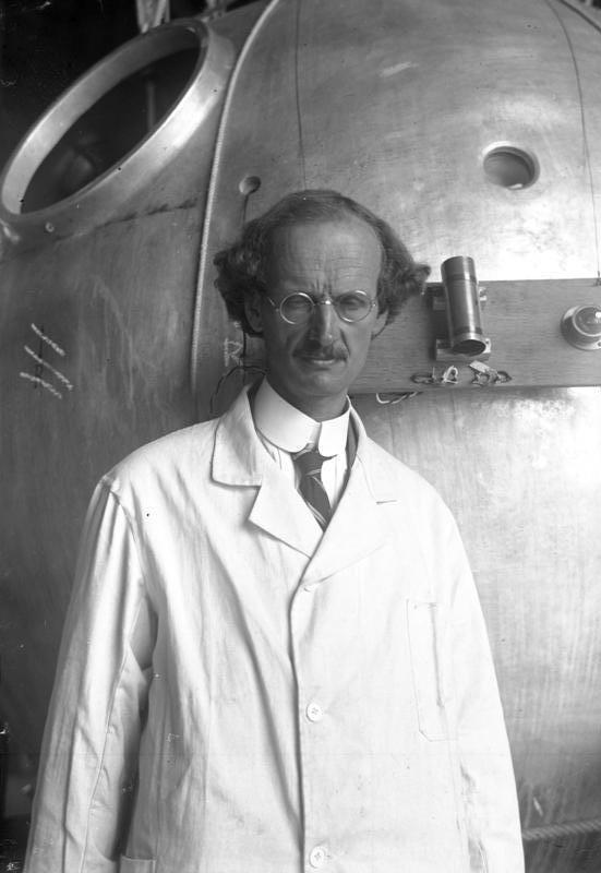 Auguste Piccard - Calculus
