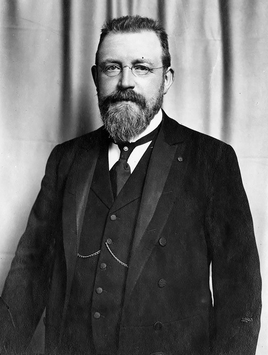Photo of Jean Capart - Professor Tarragon