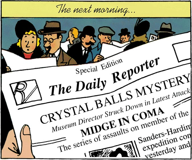 Special Edition of the Daily Reporter