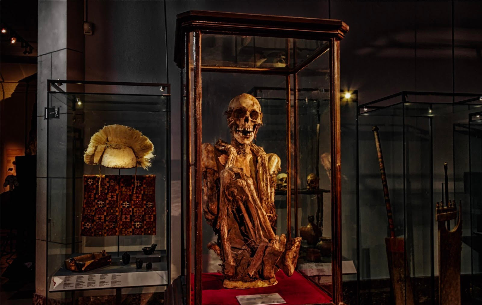 Rascar Capac - Mummy at The Cinquantenaire Museum in Brussels