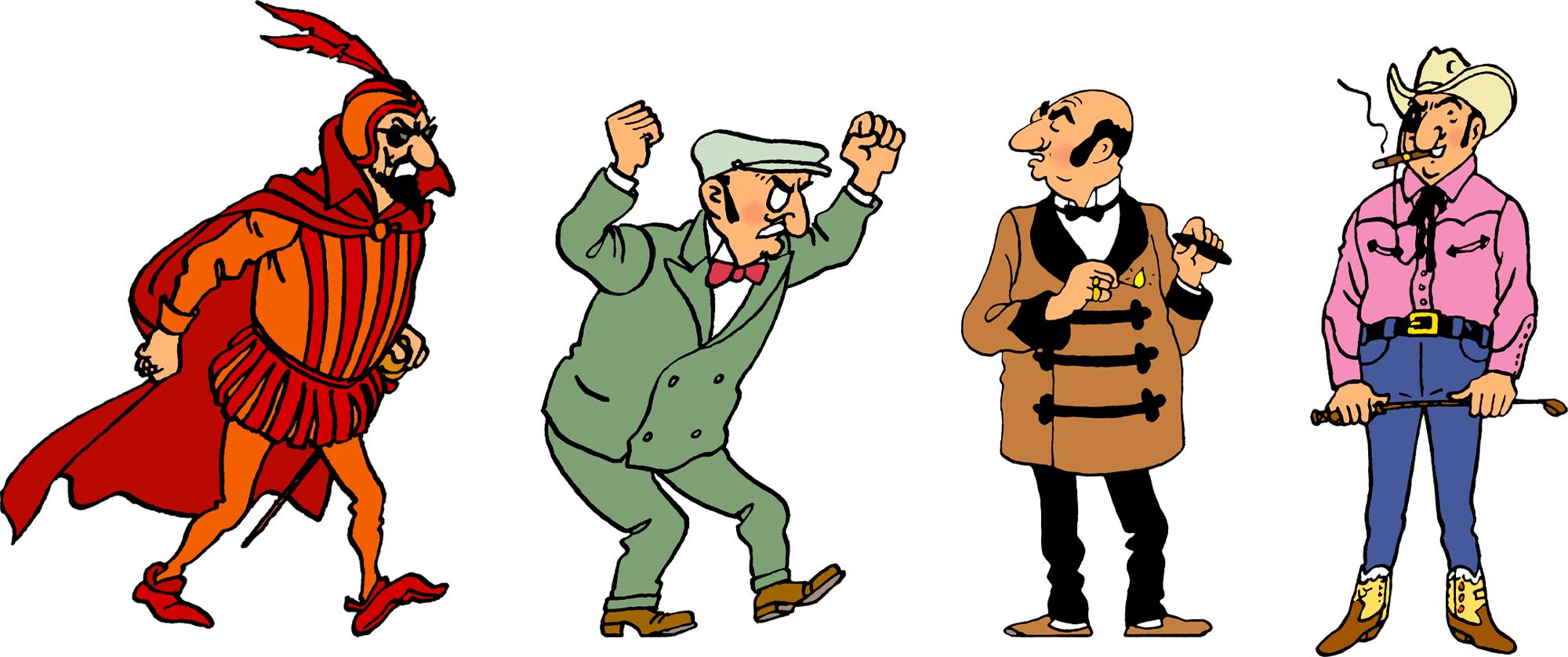 Tintin - Les Aventures de Tintin - Personnage Rastapopoulos
