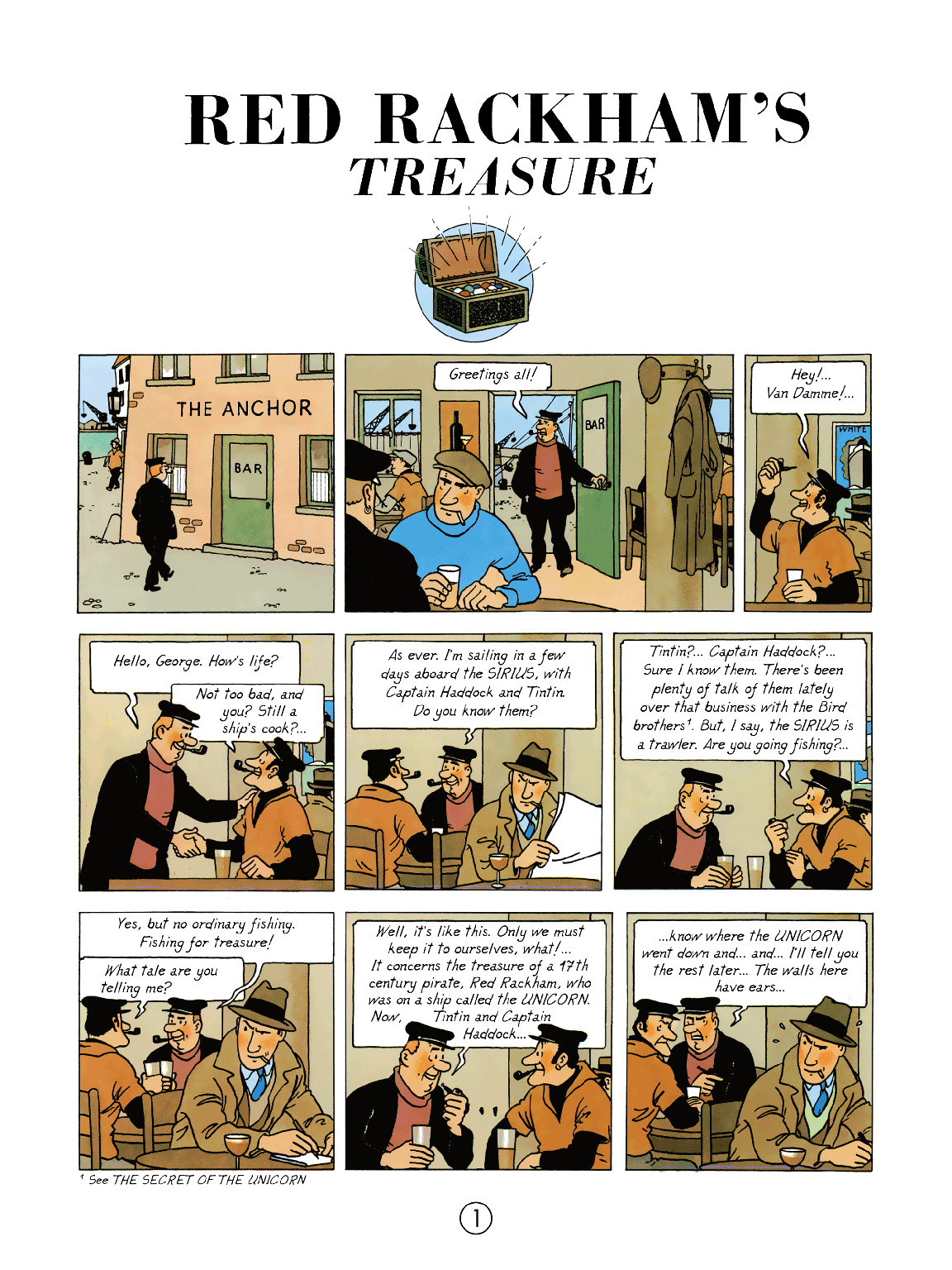 Red Rackham's Treasure - Page 1