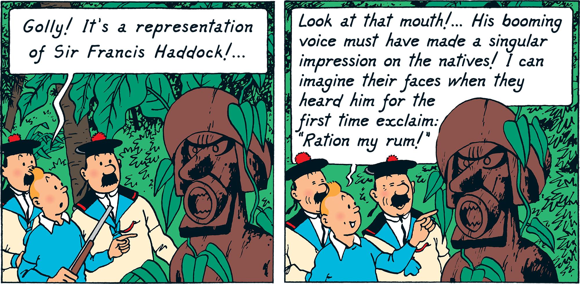 Red Rackham's Treasure - Ration my rum!
