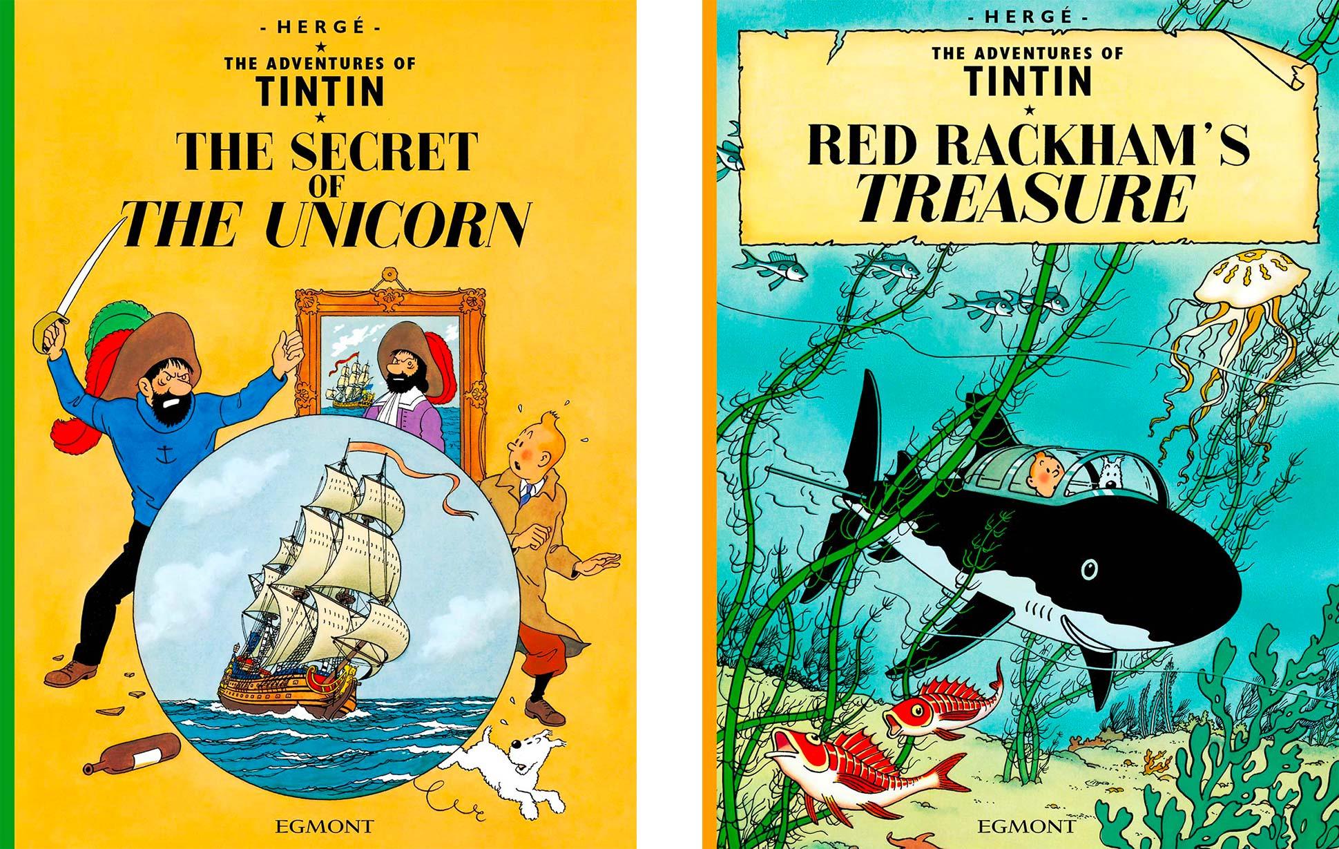The Secret of the Unicorn - Red Rackham's Treasure