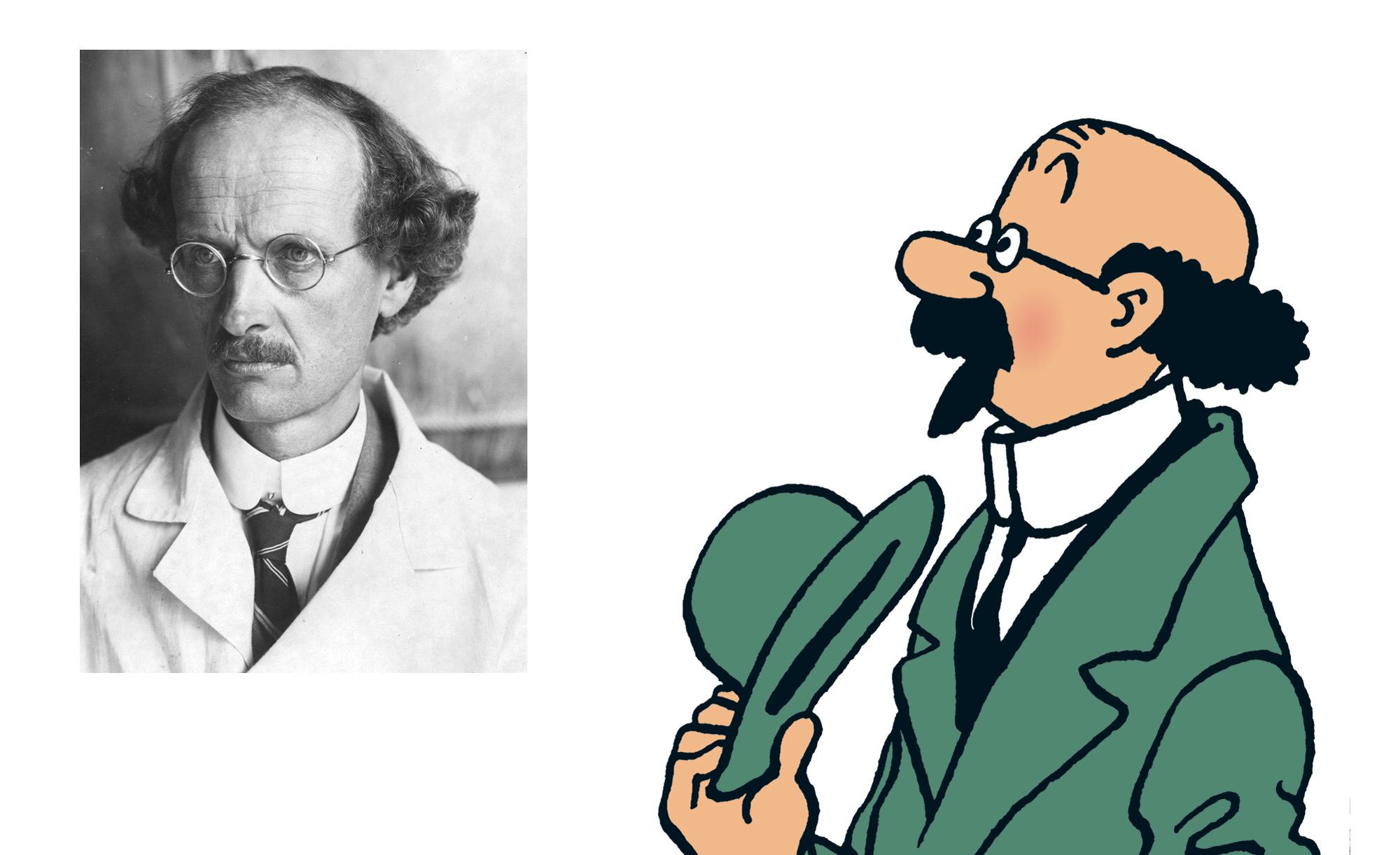 Professor Calculus - Professor Auguste Piccard