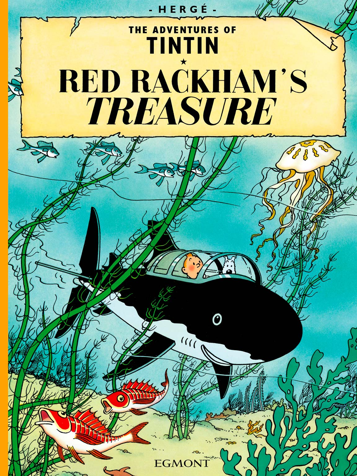 Red Rackham's Treasure - Cover