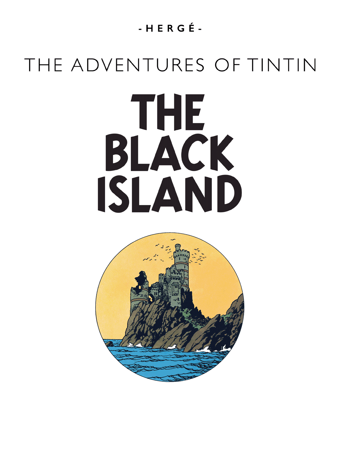 The Black Island - Title page